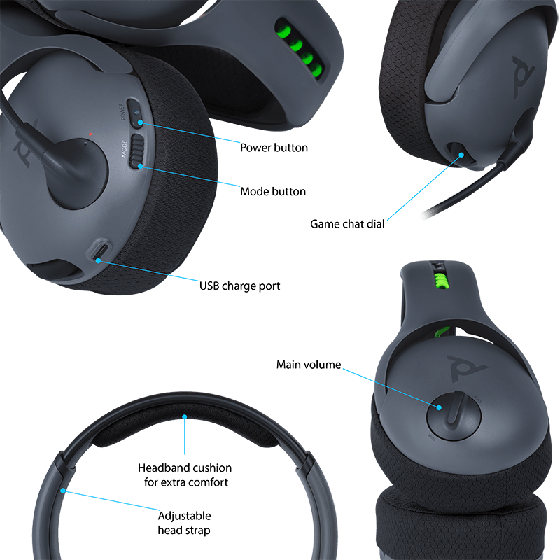 cb522cda40e Say hello to the PDP lvl 50 wireless headset! Coming in at around R1800 you  will be hard pressed to find a wireless headset for cheaper.